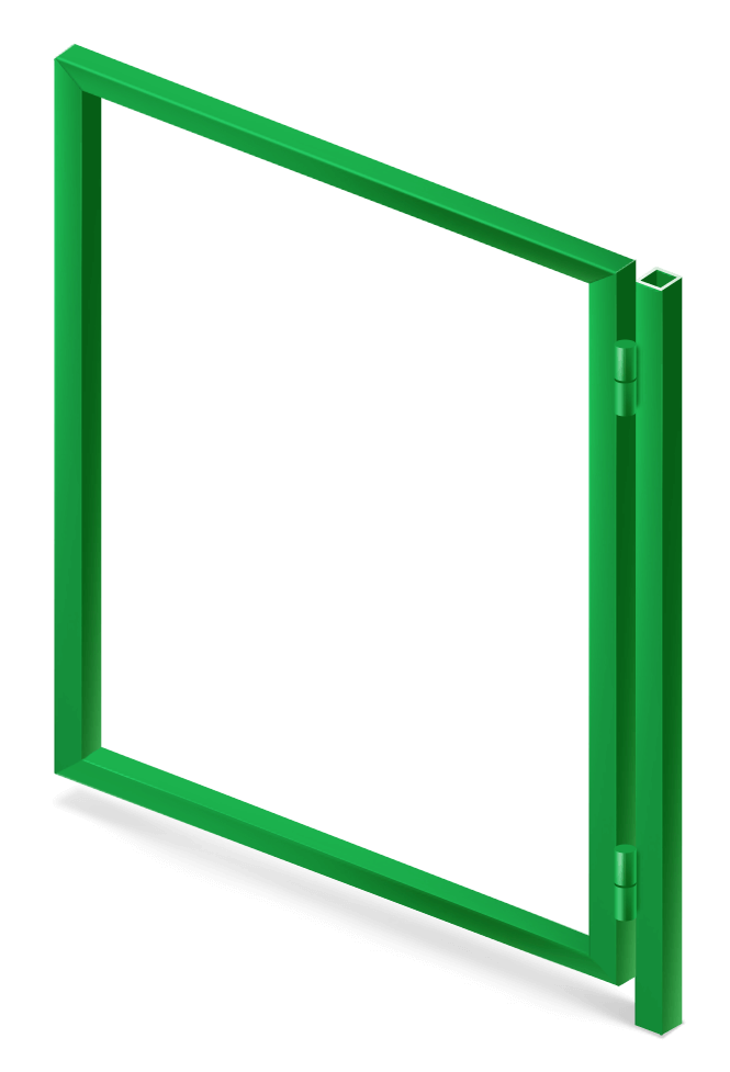 Калитка Каркас 1х1,4 м.