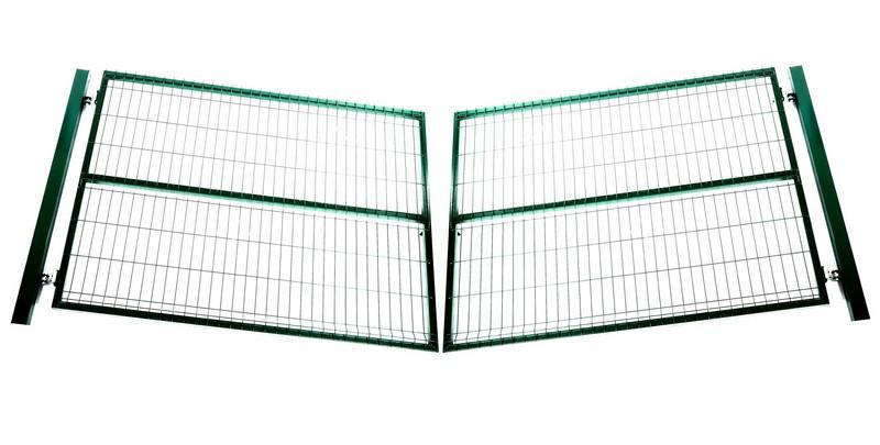 Ворота распашные «Лайт» 4х1,5 м - фото 1