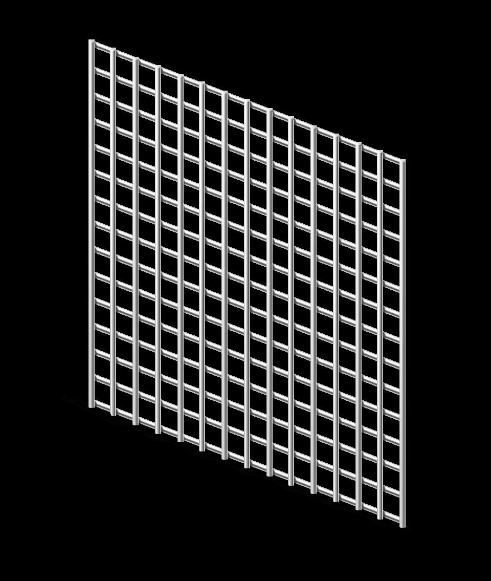 Сетка сварная ОЦ 12,5х12,5 мм., h 1 м.