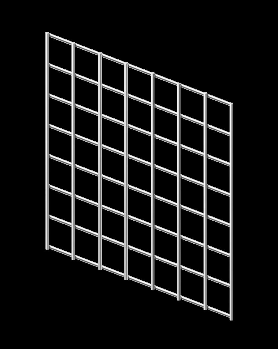 Сетка сварная ОЦ 25х25 мм., h 1,5 м.