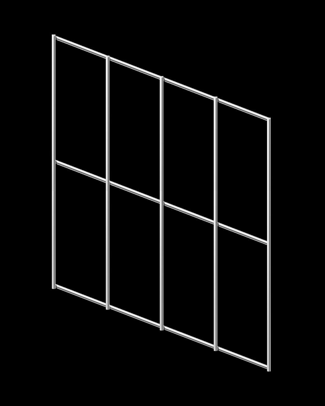 Сетка сварная ОЦ 50х100 мм., h 1,5 м.