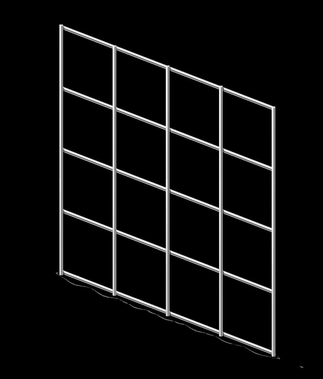 Сетка сварная ОЦ 50х50 мм., h 1,5 м.