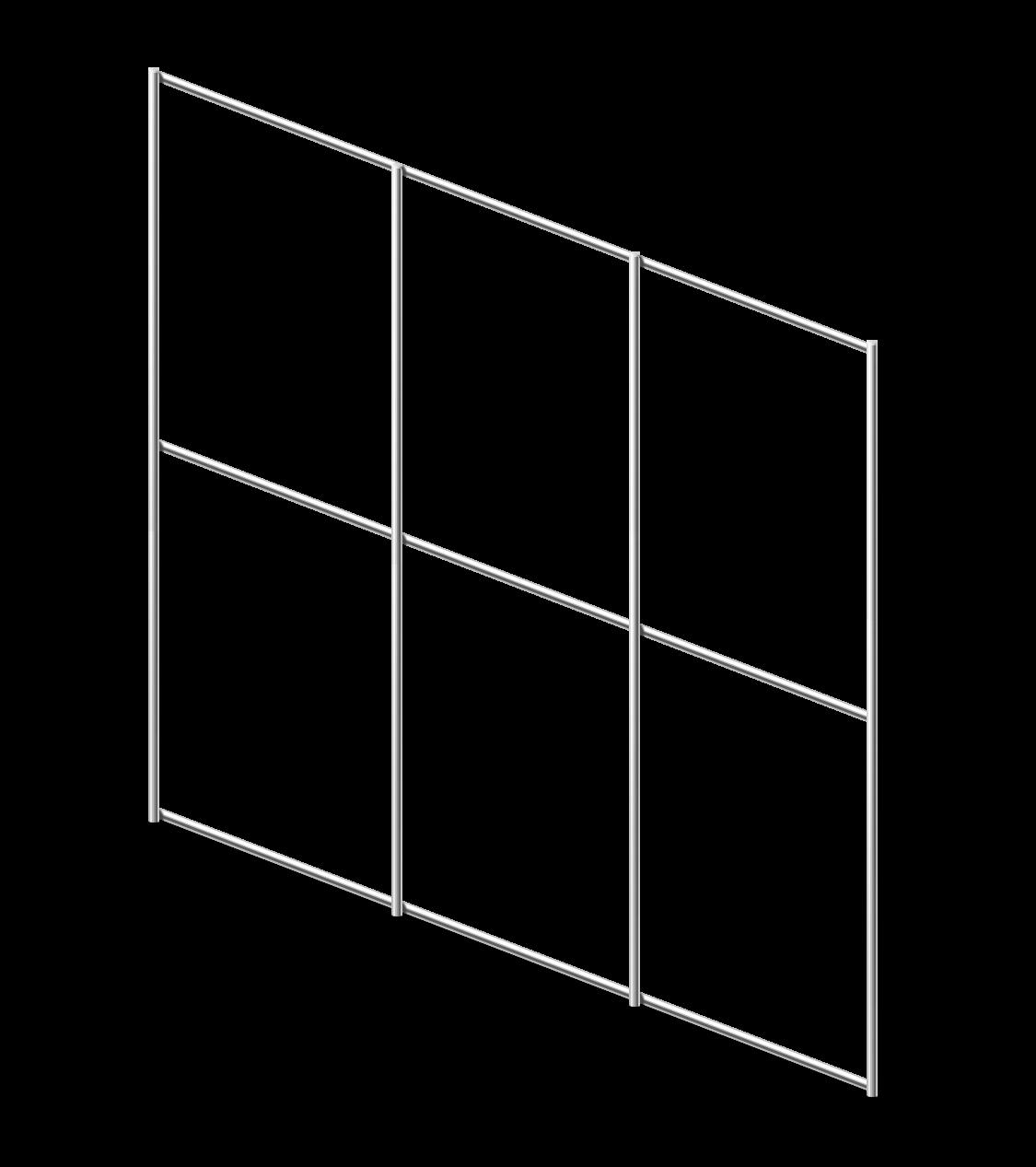 Сетка сварная ОЦ 75х100 мм., h 1,5 м.