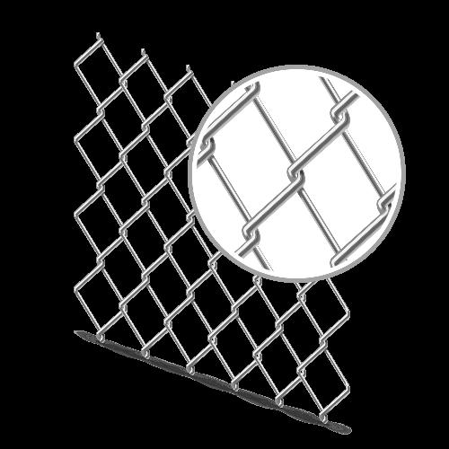 Сетка рабица оцинкованная