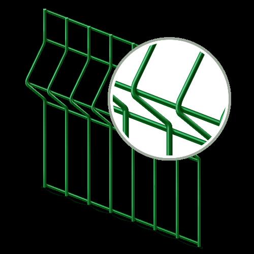 3D сетка Гиттер (секция)
