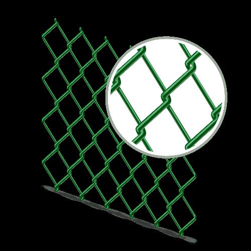 Сетка рабица с ПВХ покрытием