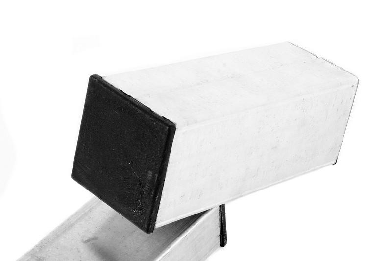 Столб квадратный ОЦ 80Х80 мм. 3000 мм. - фото 1