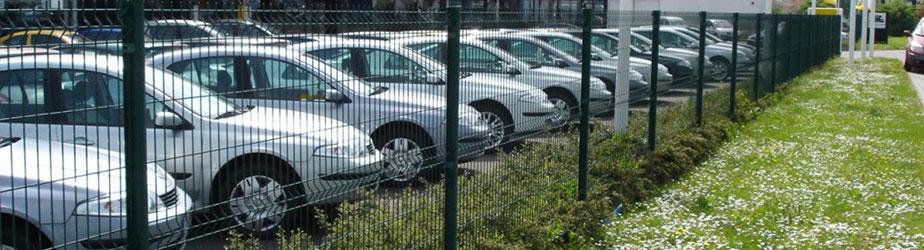 Типовые решения - Автосалон, парковка
