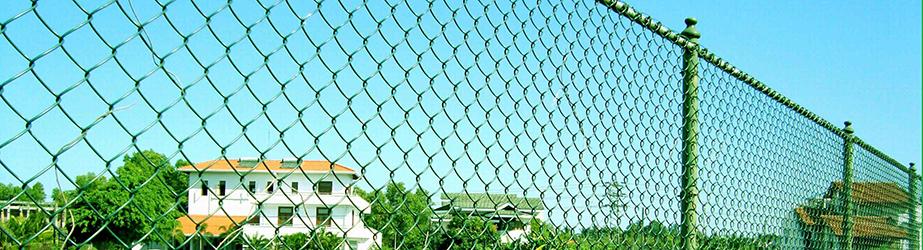 Типовые решения - Забор из сетки рабица