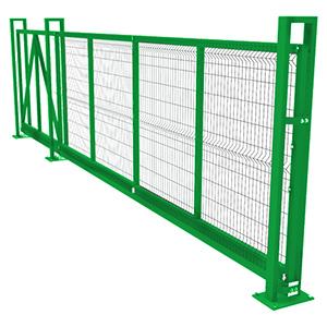 Откатные ворота «Каскад» 4х2 м