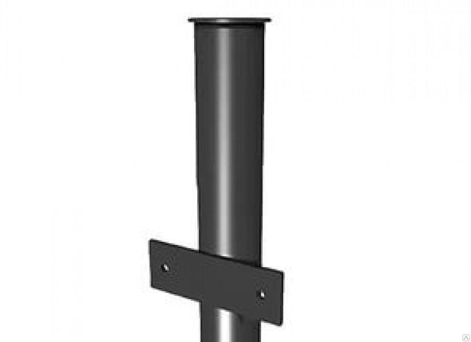 Столб для забора, d 40 мм,  2.3 м, с ушами - фото 1