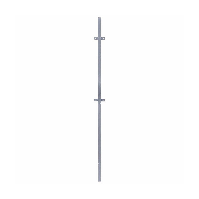 Столб для забора, d 40 мм,  2.3 м, с ушами